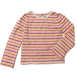 Girls Stripped Long Sleeve Top